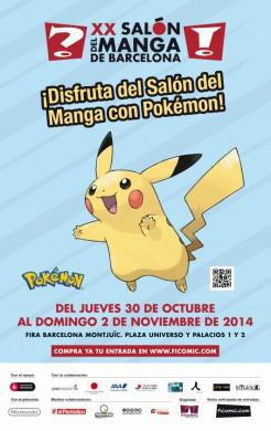 XX Salón del Manga de Barcelona_Pokémon