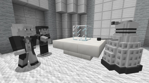doctor who minecraft 2