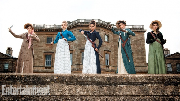 Entertainment Weekly muestra en exclusiva la primera imagen de las hermanas Bennet en la película que adapta la novela de Seth Grahame-Smith y Jane Austen