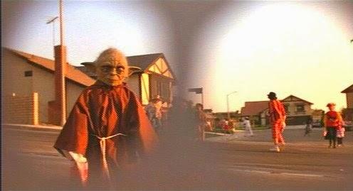 Star Wars homenajes - Yoda en ET
