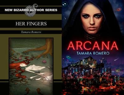 Her Finger, novela de Tamara Romero para Easerhead Press y Arcana, novela autoeditada