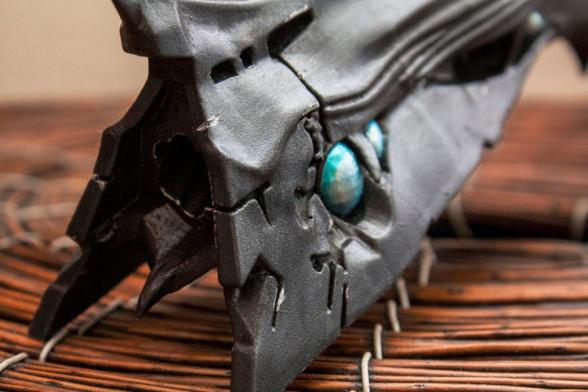 Réplica del arma Thorn del videojuego 'Destiny'