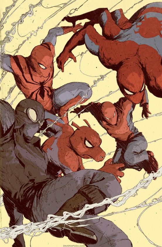 Spider-Verse Team Up Dave Rapoza