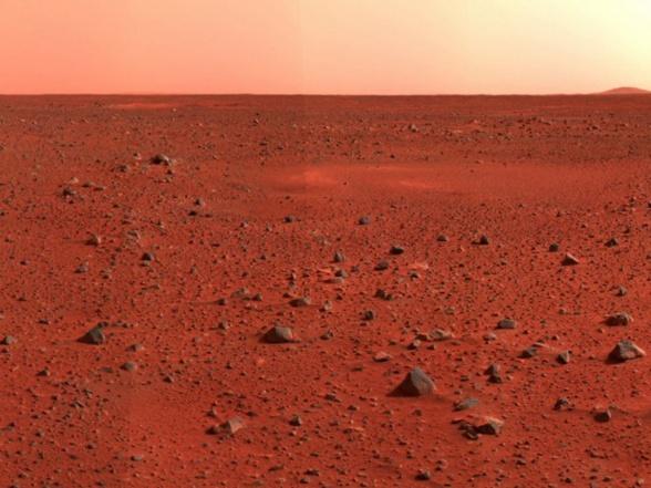 Tampoco es que haya mucho que describir, de Marte