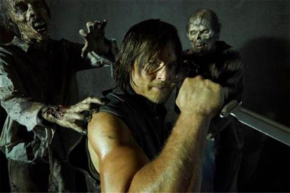 the walking dead Daryl zombi