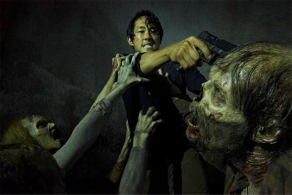 the walking dead Glenn zombi