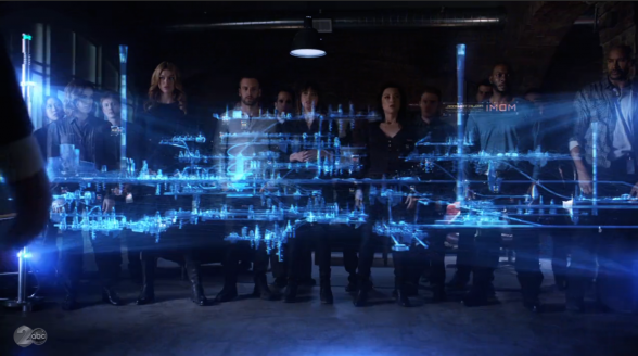 Agents of SHIELD - Writing on the Wall 01