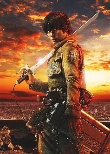 Ataque a los Titanes - Haruma Miura como Eren