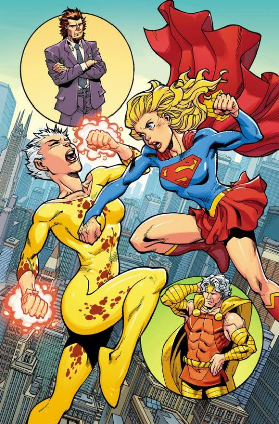Convergence - Supergirl Matrix