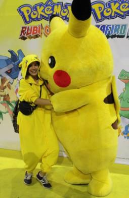 Cosplay y Pikachu en el Salón Manga