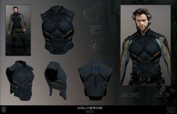 Diseños Alternativos X-Men Días del futuro pasado 01 Lobezno Armadura