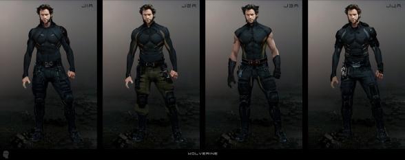 Diseños Alternativos X-Men Días del futuro pasado 01 Lobezno
