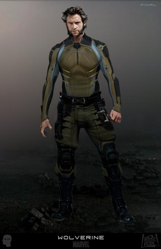 Diseños Alternativos X-Men Días del futuro pasado 01 Lobezno2