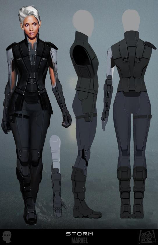 Diseños Alternativos X-Men Días del futuro pasado 02 Tormenta Armadura