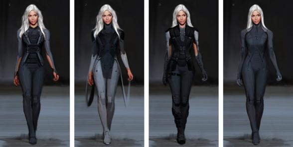 Diseños Alternativos X-Men Días del futuro pasado 02 Tormenta