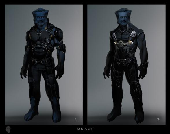 Diseños Alternativos X-Men Días del futuro pasado 03 Bestia