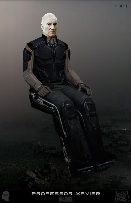 Diseños Alternativos X-Men Días del futuro pasado 04 Charles Xavier