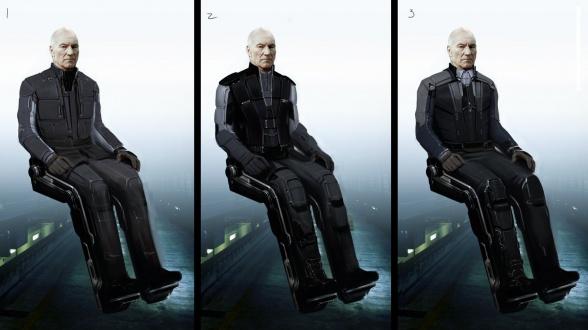 Diseños Alternativos X-Men Días del futuro pasado 04 Charles Xavier2