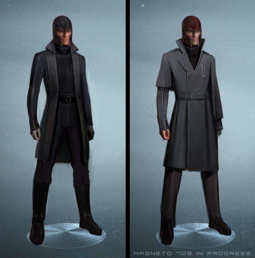 Diseños Alternativos X-Men Días del futuro pasado 05 Magneto joven