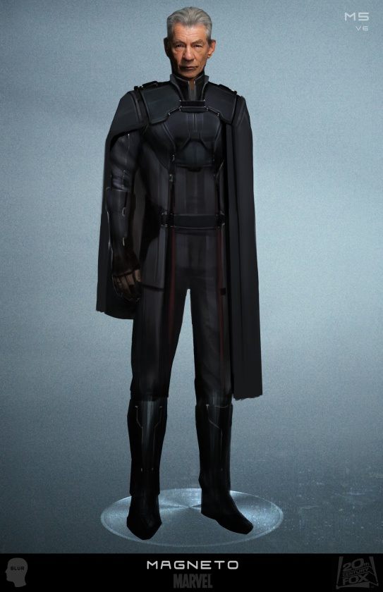 Diseños Alternativos X-Men Días del futuro pasado 05 Magneto