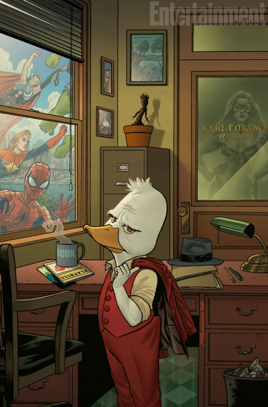 HOWARD THE DUCK número 2