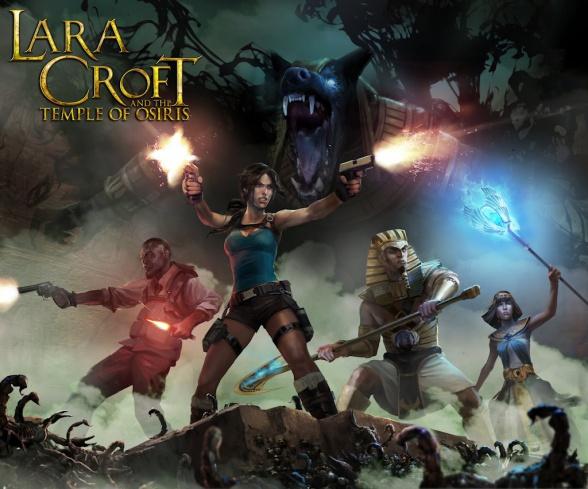 Lara Croft Temple of Osiris LOGO