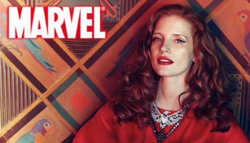 Marvel Studios - Jessica Chastain