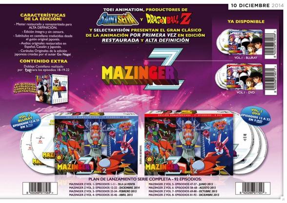 Mazinger Z Box 2