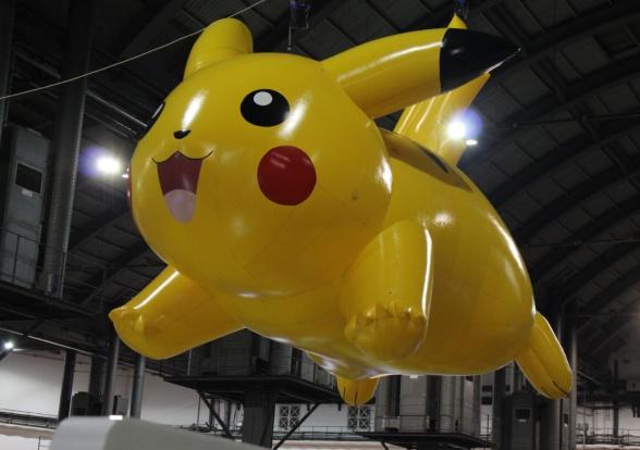 Pikachu en el Salón del Manga