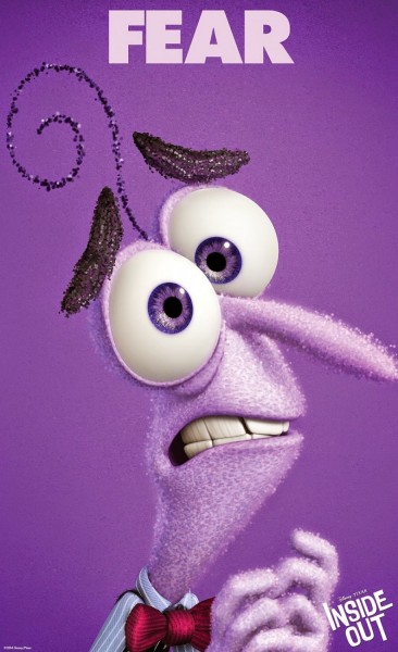 Poster Miedo Inside Out