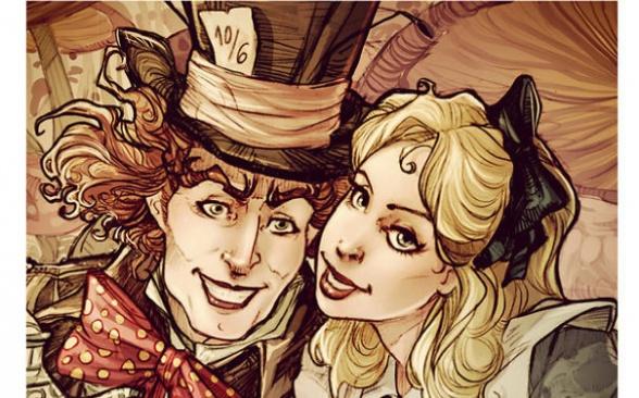 Selfie-alicia-disney