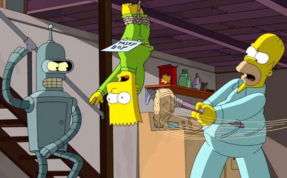 Simpsorama Simpsons Futurama