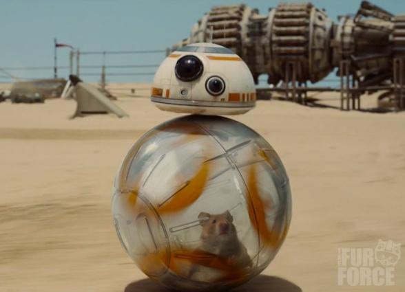 Star Wars the Force awakens droidball meme 01