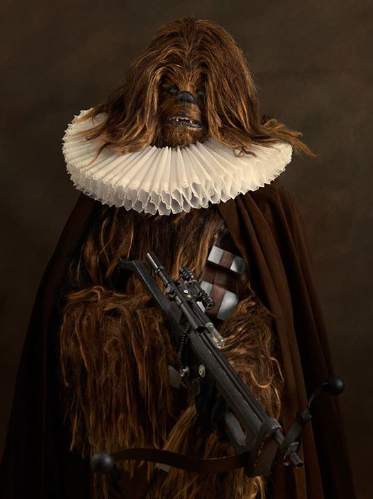 Star wars renacentista chewbacca