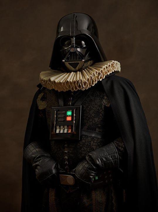Star wars renacentista darth vader
