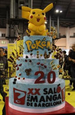 Tarta Pikachu-Salon del Manga
