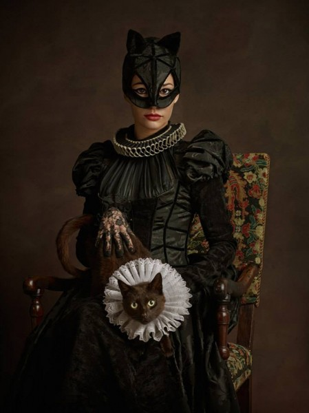 catwoman renacentista