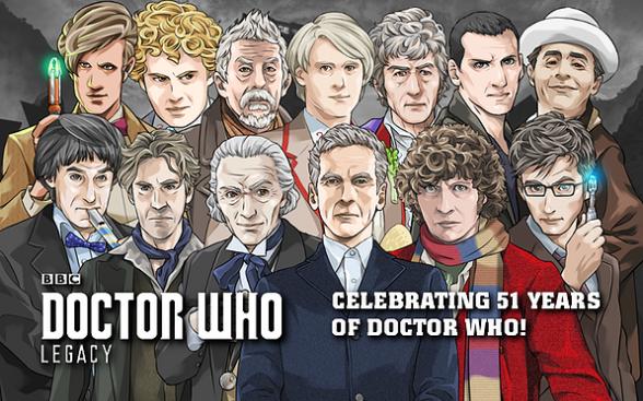 doctor who legacy 51 años