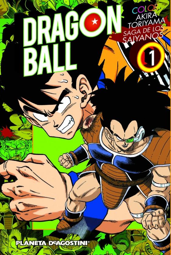 dragon ball color 1 9788416051779