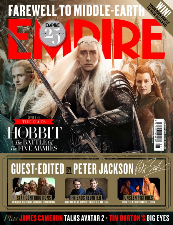 el hobbit elfos