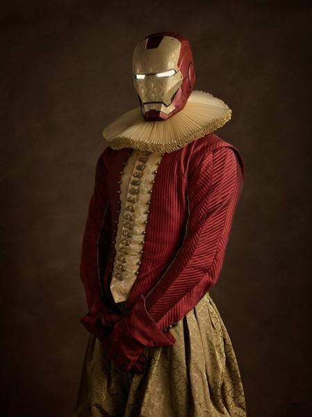 iron man renacentista
