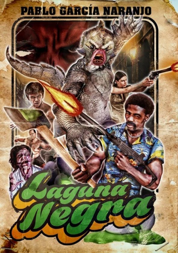 'Laguna negra' de Pablo García Naranjo - colección Monsters Unleashed de Tyrannosaurus Books
