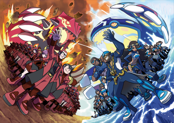Pokémon Rubi Omega y Zafiro Alfa