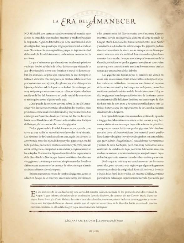 Primer vistazo a la enciclopedia 'El Mundo de Hielo y Fuego'