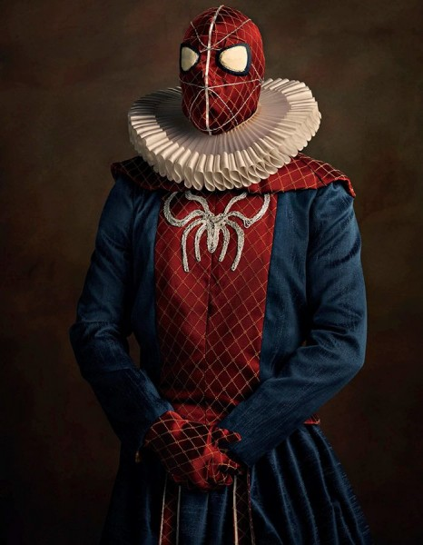 spiderman renacentista