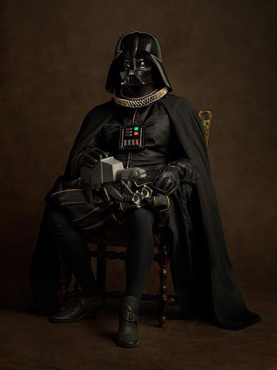 star wars renacentista darth vader 2
