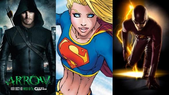 Supergirl - Arrow - Flash
