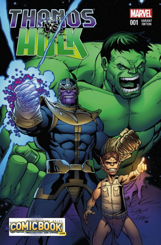 Thanos Vs Hulk 1