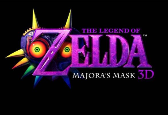zelda majoras mask 3d logo