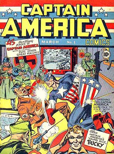 13. CAPTAIN AMERICA COMICS #1